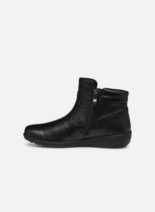 Bottines et boots Caprice Perryton Noir vue face