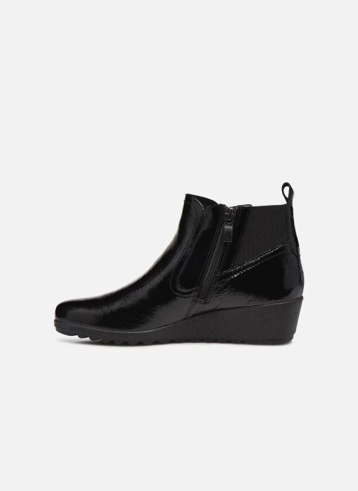 Bottines et boots Caprice Guymon Noir vue face