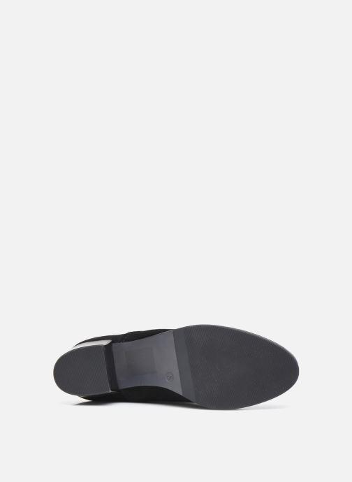 Stiefel Caprice Mexicali schwarz ansicht von oben