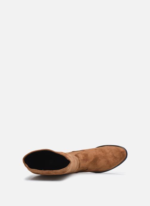 Stiefel Caprice Rosaria braun ansicht von links
