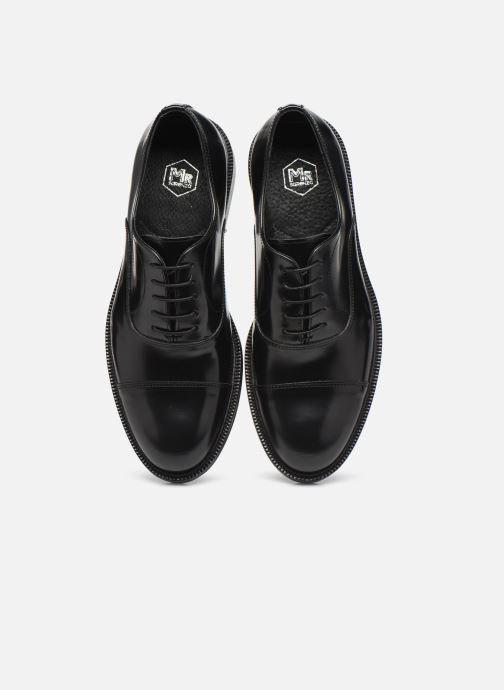 Schnürschuhe Mr SARENZA Romuelt schwarz schuhe getragen