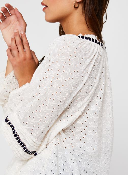 Vêtements Free People Darcy Eyelet Blouse Blanc vue face