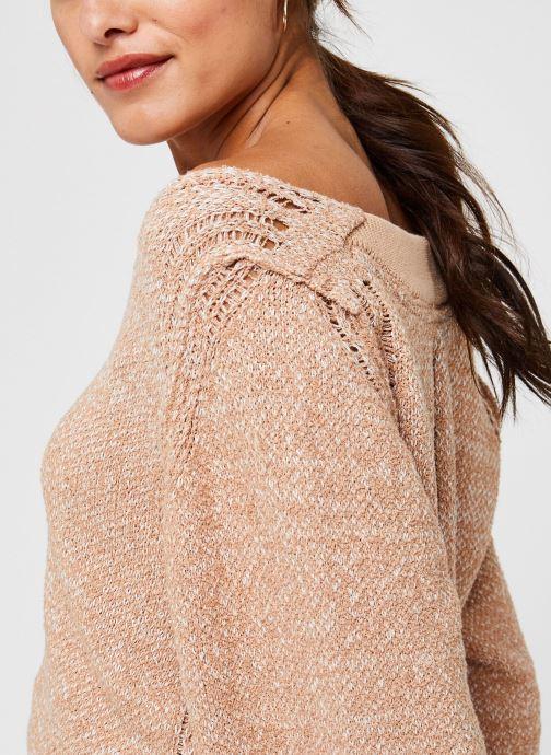 Free People Riptide V Neck Sweater - Beige (neutral)