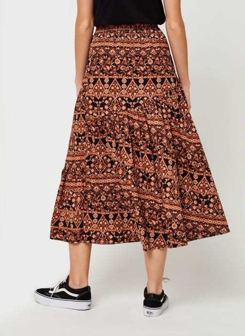 Vêtements Free People All About The Tiers Print Multicolore vue portées chaussures