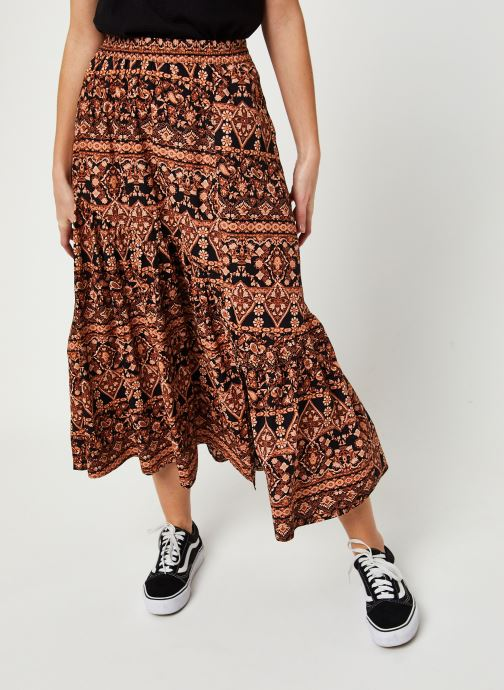 Jupe maxi - All About The Tiers Print