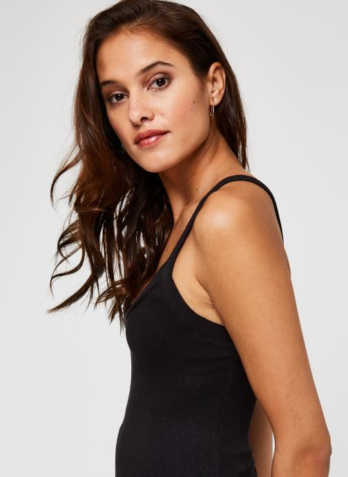 Vêtements Free People That Easy Tank Noir vue face
