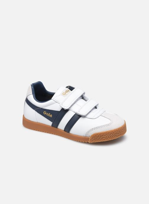 Sneakers Bambino Harrier Leather Velcro