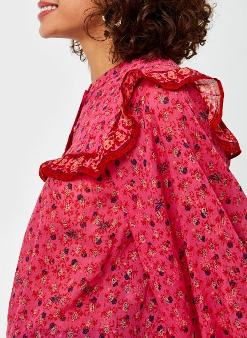 Vêtements Free People Jenna Printed Blouse Rouge vue face