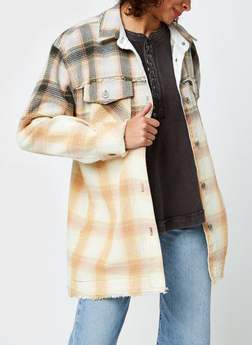 Kleding Accessoires Anneli Plaid Shirt Jacket