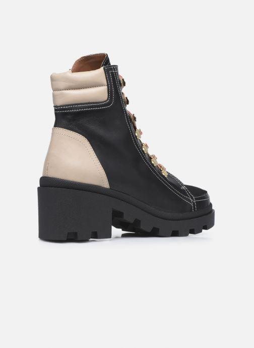 Stivaletti e tronchetti Made by SARENZA Sartorial Folk Boots #14 Nero immagine frontale