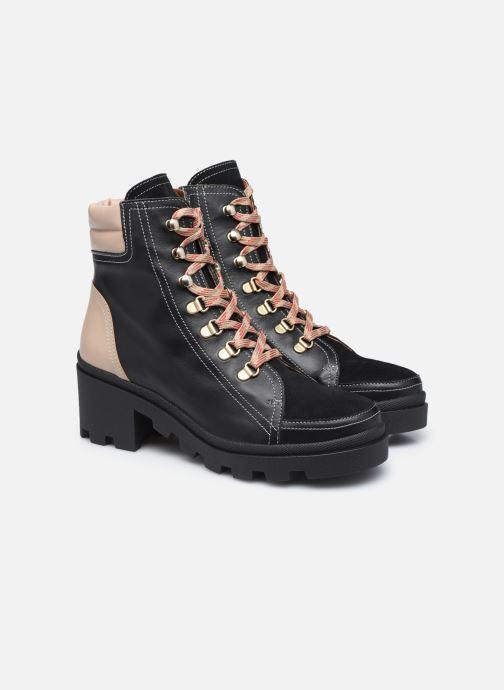 Stivaletti e tronchetti Made by SARENZA Sartorial Folk Boots #14 Nero immagine posteriore