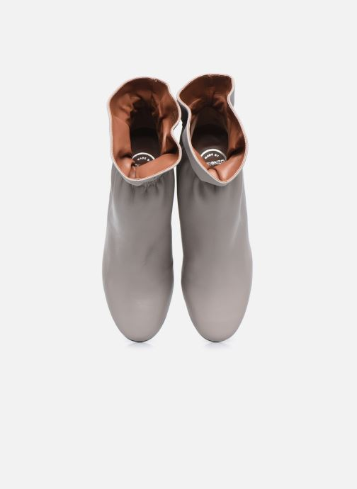 Bottines et boots Made by SARENZA Urban Smooth Boots #5 Gris vue portées chaussures