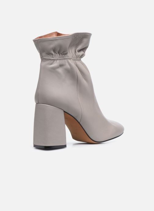 Bottines et boots Made by SARENZA Urban Smooth Boots #5 Gris vue face