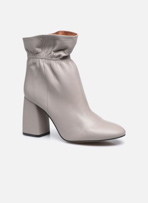 Bottines et boots Made by SARENZA Urban Smooth Boots #5 Gris vue droite