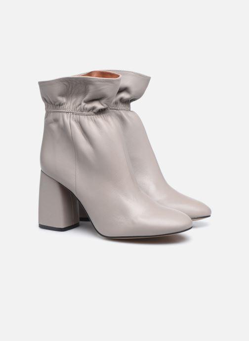 Stivaletti e tronchetti Made by SARENZA Urban Smooth Boots #5 Grigio immagine posteriore