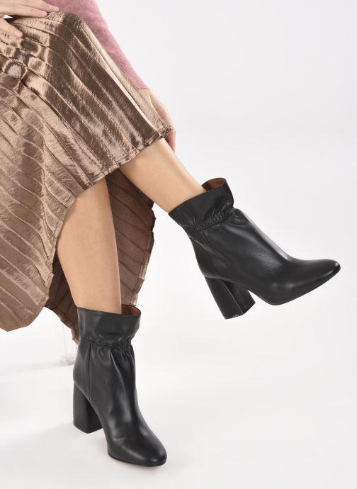 Stivaletti e tronchetti Made by SARENZA Urban Smooth Boots #5 Nero immagine dal basso