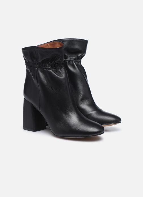 Stivaletti e tronchetti Made by SARENZA Urban Smooth Boots #5 Nero immagine posteriore