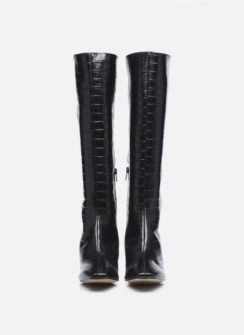 Bottes Made by SARENZA Classic Mix Bottes #4 Noir vue portées chaussures