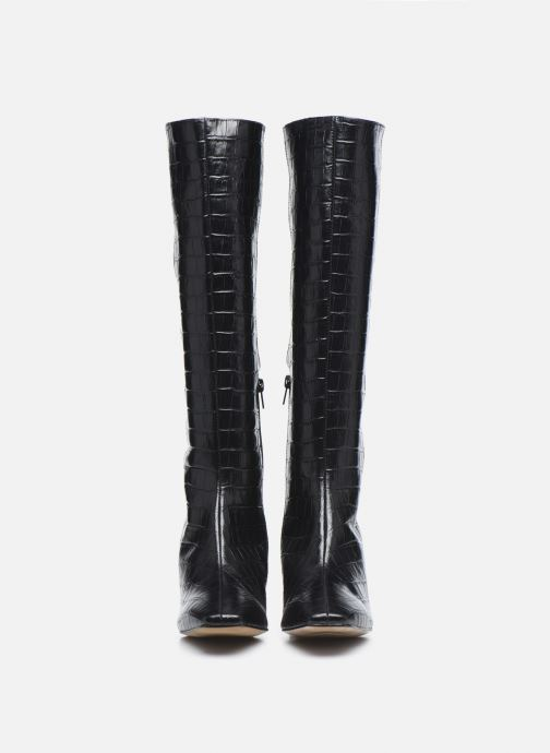 Stivali Made by SARENZA Classic Mix Bottes #4 Nero modello indossato
