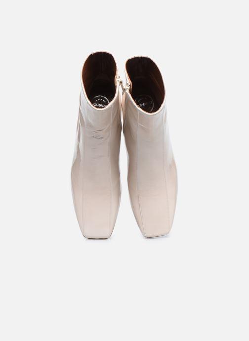 Bottines et boots Made by SARENZA Classic Mix Boots #6 Blanc vue portées chaussures