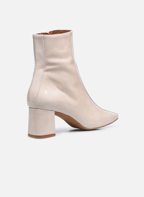 Stivaletti e tronchetti Made by SARENZA Classic Mix Boots #6 Bianco immagine frontale