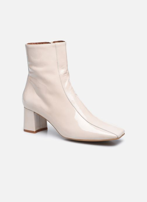 Botines  Made by SARENZA Classic Mix Boots #6 Blanco vista lateral derecha