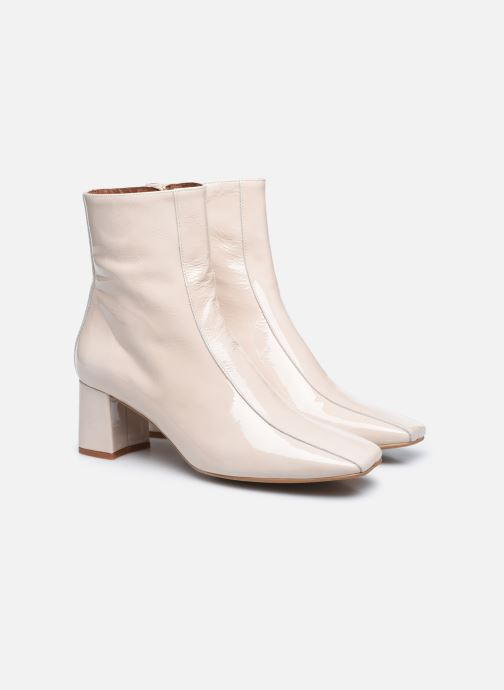 Botines  Made by SARENZA Classic Mix Boots #6 Blanco vistra trasera