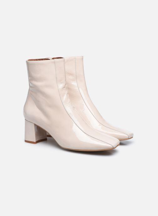 Bottines et boots Made by SARENZA Classic Mix Boots #6 Blanc vue derrière