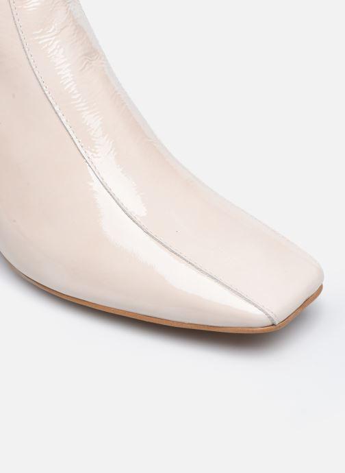 Stiefeletten & Boots Made by SARENZA Classic Mix Boots #6 weiß ansicht von links