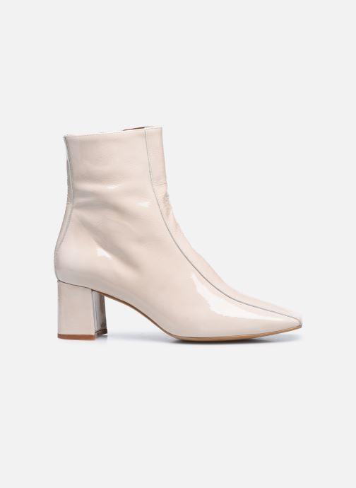 Bottines et boots Made by SARENZA Classic Mix Boots #6 Blanc vue détail/paire