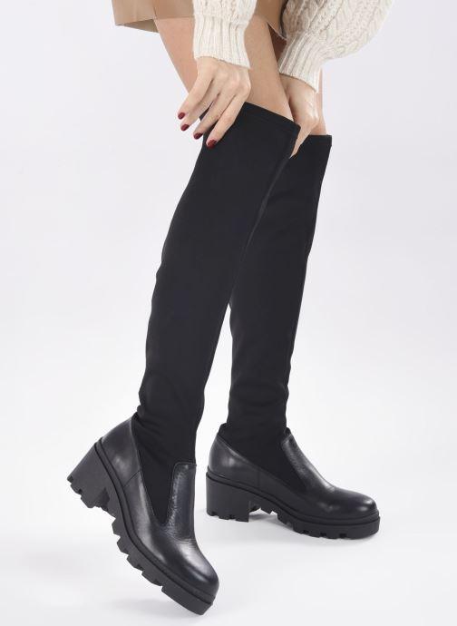 Stiefel Made by SARENZA Electric Feminity Bottes #1 schwarz ansicht von unten / tasche getragen