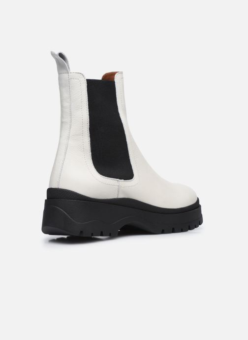 Bottines et boots Made by SARENZA Urban Smooth Boots #3 Blanc vue face