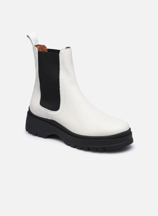Bottines et boots Made by SARENZA Urban Smooth Boots #3 Blanc vue droite