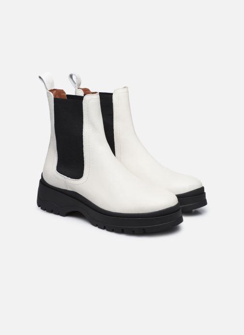 Bottines et boots Made by SARENZA Urban Smooth Boots #3 Blanc vue derrière