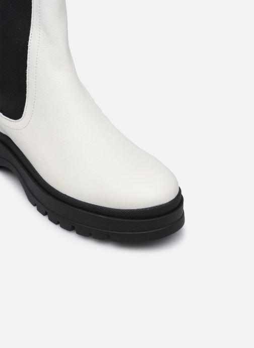 Bottines et boots Made by SARENZA Urban Smooth Boots #3 Blanc vue gauche