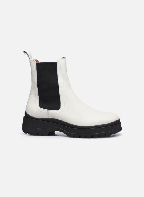 Bottines et boots Made by SARENZA Urban Smooth Boots #3 Blanc vue détail/paire