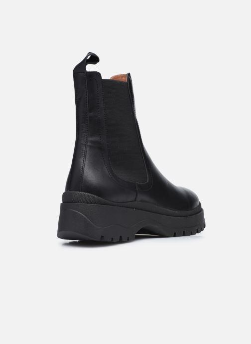 Bottines et boots Made by SARENZA Urban Smooth Boots #3 Noir vue face