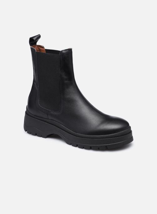 Bottines et boots Made by SARENZA Urban Smooth Boots #3 Noir vue droite