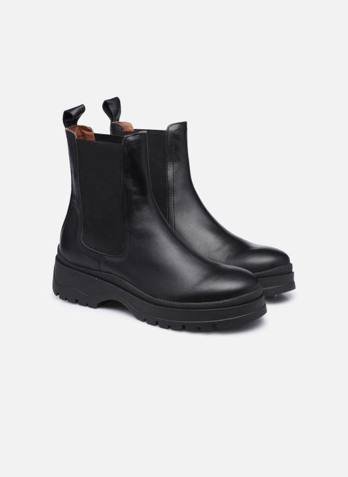 Stivaletti e tronchetti Made by SARENZA Urban Smooth Boots #3 Nero immagine posteriore