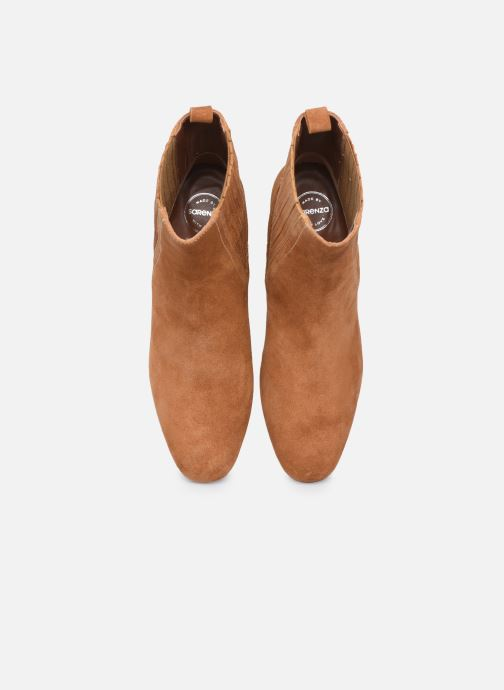 Stivaletti e tronchetti Made by SARENZA Sartorial Folk Boots #10 Marrone modello indossato
