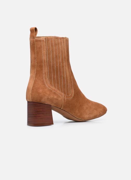 Stivaletti e tronchetti Made by SARENZA Sartorial Folk Boots #10 Marrone immagine frontale