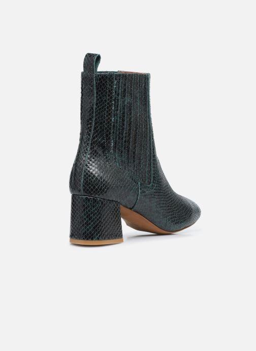 Bottines et boots Made by SARENZA Sartorial Folk Boots #10 Vert vue face