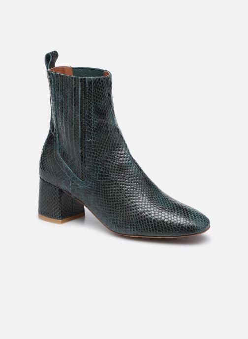 Bottines et boots Made by SARENZA Sartorial Folk Boots #10 Vert vue droite
