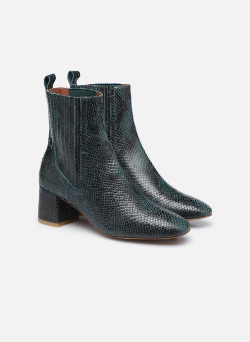 Bottines et boots Made by SARENZA Sartorial Folk Boots #10 Vert vue derrière