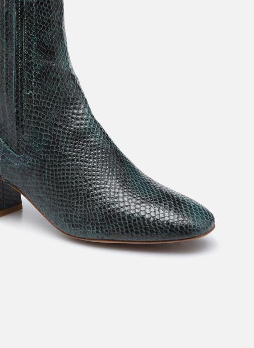 Bottines et boots Made by SARENZA Sartorial Folk Boots #10 Vert vue gauche