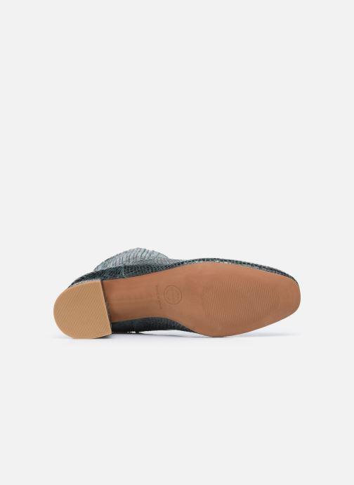 Bottines et boots Made by SARENZA Sartorial Folk Boots #10 Vert vue haut