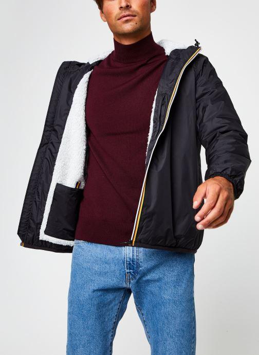 Vêtements K-Way  Claude Orsetto Vrai 3.0 F Noir vue détail/paire