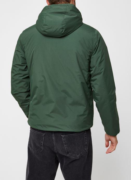 Vêtements K-Way  Jack Ripstop Marmotta Vert vue portées chaussures