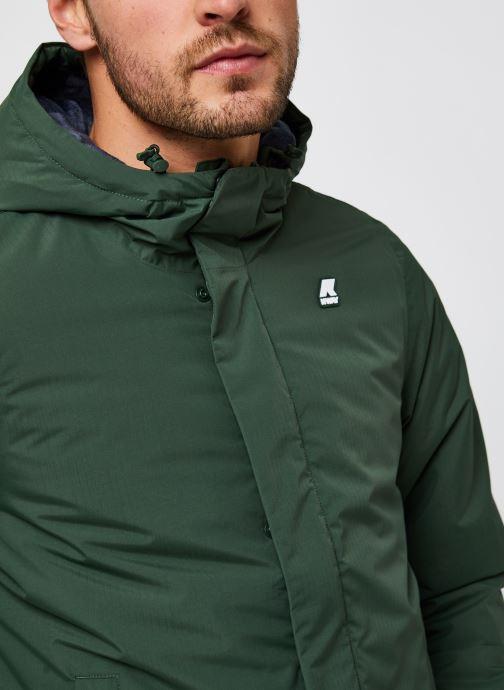 Vêtements K-Way  Jack Ripstop Marmotta Vert vue face