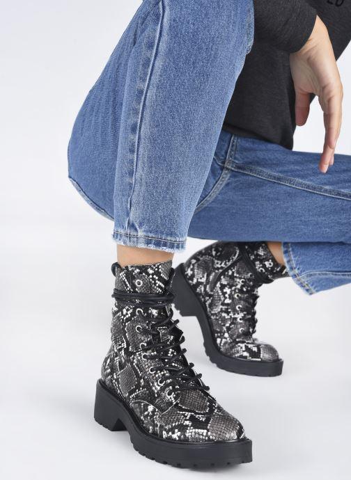 Stiefeletten & Boots Steve Madden TORNADO grau ansicht von unten / tasche getragen